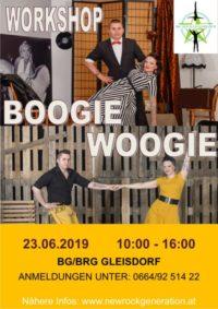 Der Boogie Woogie Workshop geht in die nächste Runde!